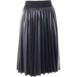 Spódnica - 31-6572 NERO. Czarne spódnice wieczorowe Unisono, uniwersalny, z materiału, dopasowane. Za 69,00 zł.