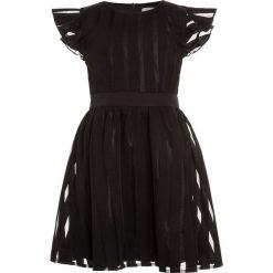 Sukienki dziewczęce z falbanami: Mini Molly GIRL DRESS Sukienka koktajlowa black