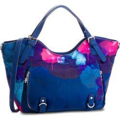 Torebka DESIGUAL - 18WAXF35 5006. Niebieskie torebki klasyczne damskie Desigual, z materiału. W wyprzedaży za 249,00 zł.
