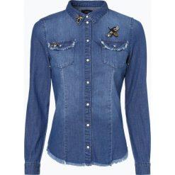 ONLY - Damska koszula jeansowa, niebieski. Niebieskie koszule męskie jeansowe marki ONLY, m. Za 219,95 zł.