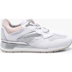 Geox - Buty. Szare buty sportowe damskie marki Geox, z gumy. W wyprzedaży za 359,90 zł.