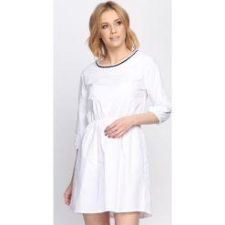 Biała Sukienka Same Things. Białe sukienki hiszpanki Born2be, na lato, l. Za 59,97 zł.