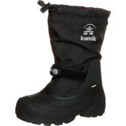 Kamik WATERBUG 5G Śniegowce black. Czarne buty zimowe damskie marki Kamik, z materiału. W wyprzedaży za 279,30 zł.