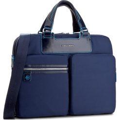 Torba na laptopa PIQUADRO - CA3355CE Blu. Niebieskie plecaki męskie marki Piquadro, z materiału. W wyprzedaży za 679,00 zł.