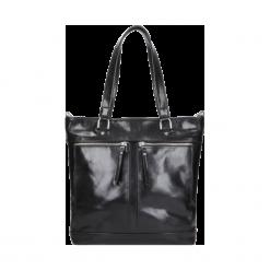 Torebka damska. Czarne torebki klasyczne damskie Wojas, duże. Za 599,00 zł.