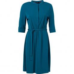 """Sukienka """"I Can See"""" w kolorze morskim. Niebieskie sukienki marki 4funkyflavours Women & Men, l, ze stójką, midi. W wyprzedaży za 195,95 zł."""