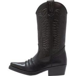 Kentucky's Western Kowbojki i Buty motocyklowe black. Czarne buty zimowe damskie marki Kentucky's Western, z materiału. Za 509,00 zł.