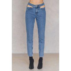 FAYT Jeansy Charlie - Blue. Niebieskie jeansy damskie marki FAYT, z bawełny. W wyprzedaży za 62,39 zł.