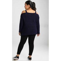 Swetry klasyczne damskie: Anna Field Curvy Sweter dark blue