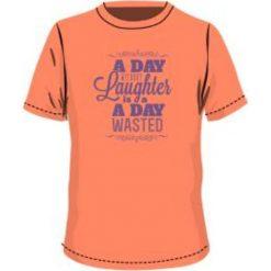 T-shirty chłopięce: BEJO Koszulka dziecięca FUN JRG Melon/ Purple Heart r. 146