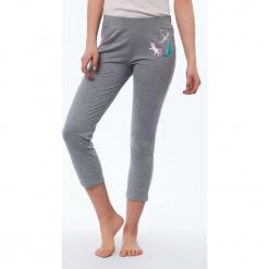 Etam - Spodnie piżamowe Delya. Szare piżamy damskie Etam, l, z bawełny. Za 89,90 zł.