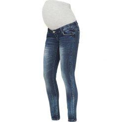 MAMALICIOUS Jeans Skinny Fit medium blue denim. Niebieskie jeansy damskie MAMALICIOUS, z bawełny. W wyprzedaży za 161,85 zł.