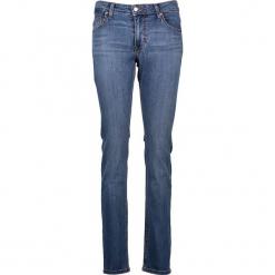 """Dżinsy """"Sissy"""" - Slim fit - w kolorze niebieskim. Niebieskie jeansy damskie relaxed fit marki Mustang, z aplikacjami, z bawełny. W wyprzedaży za 152,95 zł."""