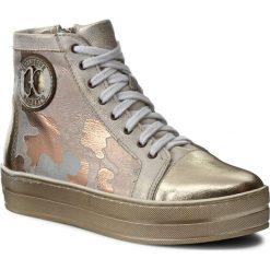 Sneakersy damskie: Sneakersy ROBERTO – 548 Złoty Moro