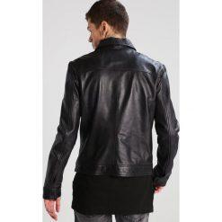Goosecraft Kurtka skórzana black. Czarne kurtki męskie Goosecraft, m, z materiału. W wyprzedaży za 972,30 zł.