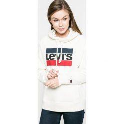 Levi's - Bluza. Bluzy rozpinane damskie Levi's®, l, z nadrukiem, z bawełny, z kapturem. Za 239,90 zł.