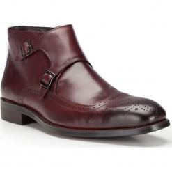 Buty męskie 87-M-824-2. Czerwone buty wizytowe męskie Wittchen, z syntetyku. Za 379,00 zł.