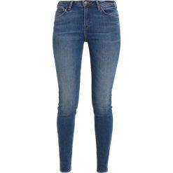 Lee SCARLETT HIGH Jeans Skinny Fit ninety nine. Niebieskie rurki damskie Lee. Za 319,00 zł.