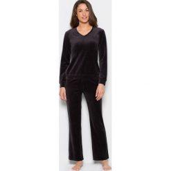 Piżamy damskie: Piżama z weluru