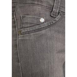 Blue Effect Jeans Skinny Fit grau. Szare jeansy dziewczęce marki bonprix, z bawełny. Za 149,00 zł.