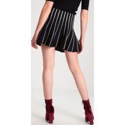 Minispódniczki: YAS YASSOMAIN Spódnica trapezowa black