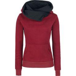 Forplay Pentagram Bluza z kapturem damska bordowy. Czerwone bluzy z kapturem damskie Forplay, xl, prążkowane. Za 164,90 zł.