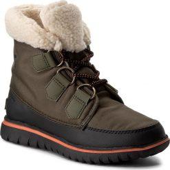 Śniegowce SOREL - Cozy Carnival NL2297  Nori/Black 383. Zielone śniegowce damskie Sorel, z gumy. W wyprzedaży za 319,00 zł.