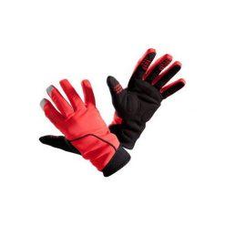 RĘKAWICZKI 500 ZIMOWE. Czerwone rękawiczki damskie B'TWIN, na zimę. Za 59,99 zł.