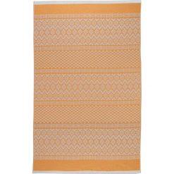 Kąpielówki męskie: Chusta hammam w kolorze pomarańczowym – 200 x 140 cm