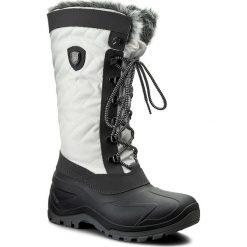 Śniegowce CMP - Nietos Wmn 3Q47966 B.Co Gesso A143. Białe śniegowce damskie CMP, z materiału. Za 299,99 zł.