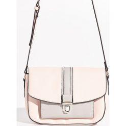 Torebka z klamrą - Kremowy. Białe torebki klasyczne damskie Sinsay. W wyprzedaży za 39,99 zł.