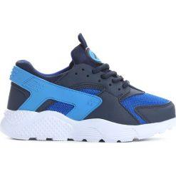 Niebieskie Buty Sportowe Be For You. Niebieskie buty sportowe chłopięce marki Born2be, z materiału, z okrągłym noskiem. Za 49,99 zł.