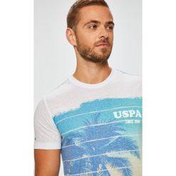 U.S. Polo - T-shirt. Szare koszulki polo marki U.S. Polo, l, z nadrukiem, z bawełny. W wyprzedaży za 159,90 zł.
