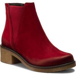 Botki SERGIO BARDI - Cortona FW127270917GM 408. Czerwone buty zimowe damskie Sergio Bardi, z nubiku. W wyprzedaży za 249,00 zł.