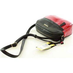 Lifestylowa listonoszka czerwony. Czerwone torby na ramię męskie marki Monnari, w paski, ze skóry ekologicznej, przez ramię. Za 129,00 zł.