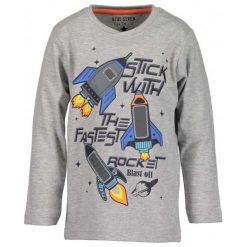 Blue Seven Koszulka Chłopięca Z Rakietami 98 Szary. Niebieskie t-shirty chłopięce Blue Seven, z bawełny. Za 49,00 zł.