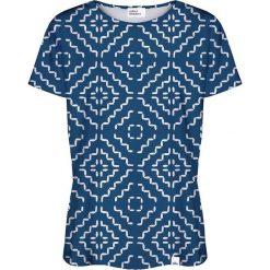 Colour Pleasure Koszulka damska CP-030 181 granatowo-biała r. XS/S. Białe bluzki damskie marki Colour pleasure, s. Za 70,35 zł.