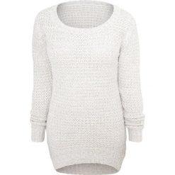RED by EMP Long Wideneck Sweater Sweter damski biały (Old White). Białe swetry klasyczne damskie RED by EMP, xs, z dzianiny. Za 144,90 zł.