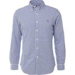 Polo Ralph Lauren SLIM FIT Koszula blue/white. Szare koszule męskie slim marki Polo Ralph Lauren, l, z bawełny, button down, z długim rękawem. Za 439,00 zł.