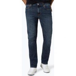 Calvin Klein Jeans - Jeansy męskie, niebieski. Czarne jeansy męskie relaxed fit marki Calvin Klein Jeans, z bawełny. Za 349,95 zł.