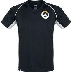 T-shirty męskie z nadrukiem: Overwatch Logo T-Shirt czarny