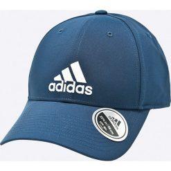 Adidas Performance - Czapka. Szare czapki z daszkiem męskie adidas Performance, z materiału. W wyprzedaży za 59,90 zł.