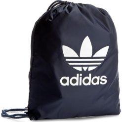 Plecak adidas - Gymsack Trefoil BK6727 Conavy. Niebieskie plecaki męskie Adidas, z materiału, sportowe. Za 54,95 zł.