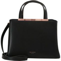 Ted Baker NAOMII TOTE BAG Torebka black. Czarne torebki klasyczne damskie marki Ted Baker, z materiału. Za 929,00 zł.