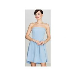 Sukienka K368 Niebieski. Brązowe sukienki na komunię marki Reserved, m, z gorsetem, gorsetowe. Za 149,00 zł.