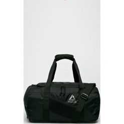 Reebok - Torba. Szare torebki klasyczne damskie marki Reebok, w paski, z materiału. W wyprzedaży za 149,90 zł.