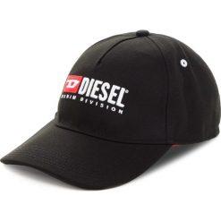 Czapka z daszkiem DIESEL - Cakerym-Max Hat 00SIIQ-0LAOI-900 Black. Czarne czapki z daszkiem męskie Diesel, z materiału. Za 249,00 zł.