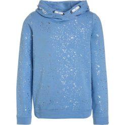S.Oliver RED LABEL LANGARM Bluza z kapturem light blue. Niebieskie bluzy dziewczęce rozpinane marki s.Oliver RED LABEL, z bawełny, z kapturem. Za 159,00 zł.