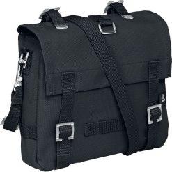Brandit Torba na ramię (mała) Torba na ramię czarny. Czarne torby na ramię męskie Brandit, w paski, na ramię, małe. Za 54,90 zł.
