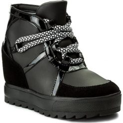 Sneakersy damskie: Sneakersy ARMANI JEANS – 925257 7A655 00020 Nero